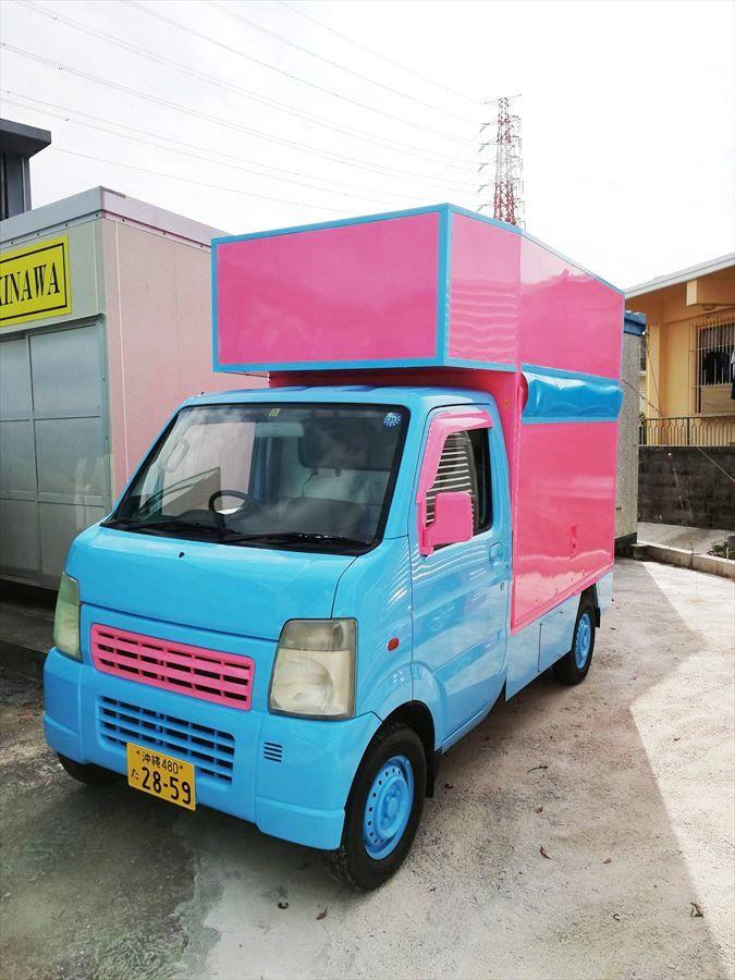 沖縄 移動販売車 キッチンカー フードトラック フードカー